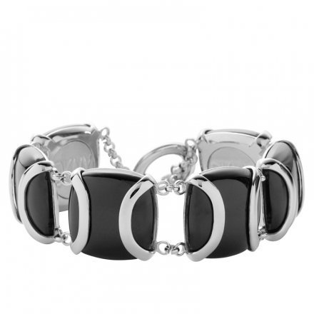 NJ1680 Onyx Damen Armband steel