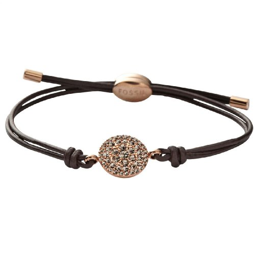 Fossil Jewelry Damen-Armband Fashion Vintage Leather JF00118791
