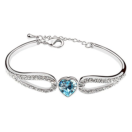 Armband  Exklusives Armband in weissgold