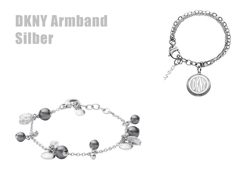 DKNY Armband in Silber